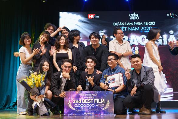 Lư Đồng thắng đậm, Dũng Mắt biếc đoạt giải tại Dự án Làm phim 48h - Ảnh 3.