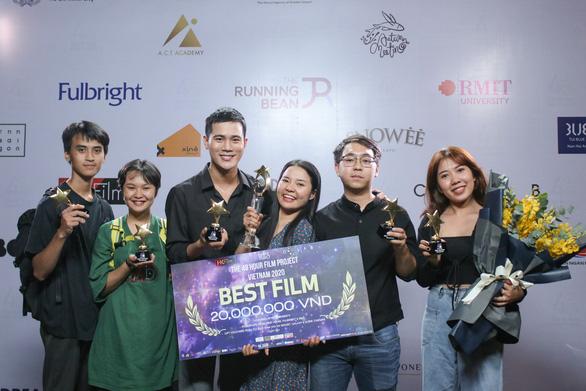 Lư Đồng thắng đậm, Dũng Mắt biếc đoạt giải tại Dự án Làm phim 48h - Ảnh 1.