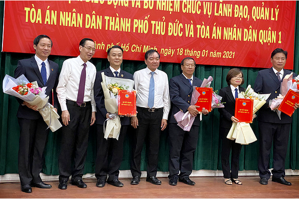 Ông Nguyễn Thành Vinh làm chánh án TAND TP Thủ Đức - Ảnh 2.