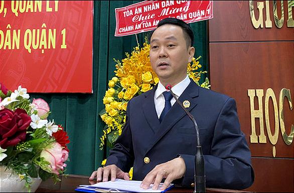 Ông Nguyễn Thành Vinh làm chánh án TAND TP Thủ Đức - Ảnh 1.