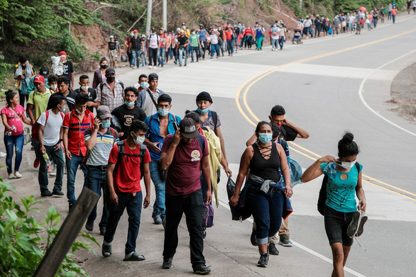 گواتمالا ، مکزیک به شدت از ورود مهاجران به ایالات متحده جلوگیری می کند - عکس 1.