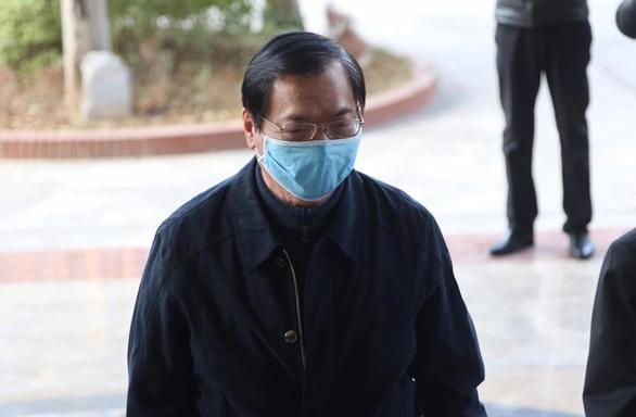 Lần thứ hai hoãn phiên tòa xét xử cựu bộ trưởng Vũ Huy Hoàng - Ảnh 1.
