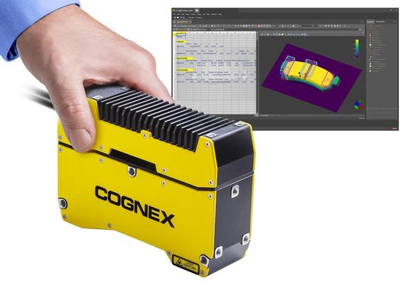 Cognex giới thiệu hệ thống xử lý ảnh In-Sight® 3D-L4000 - Ảnh 1.