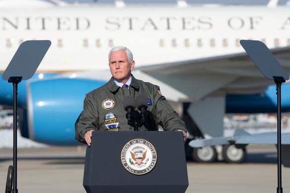 Ông Pence ca ngợi chính quyền ông Trump không đưa Mỹ vào cuộc chiến nào - Ảnh 1.