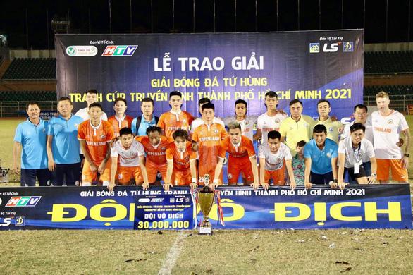 Cầm hòa CLB Sài Gòn, tân binh Bình Định lên ngôi tại giải giao hữu tiền V-League - Ảnh 1.