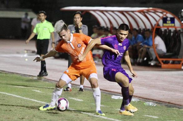 Cầm hòa CLB Sài Gòn, tân binh Bình Định lên ngôi tại giải giao hữu tiền V-League - Ảnh 2.