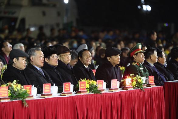 Trao bằng xếp hạng Khu di tích Bạch Đằng Giang là di tích lịch sử quốc gia - Ảnh 2.