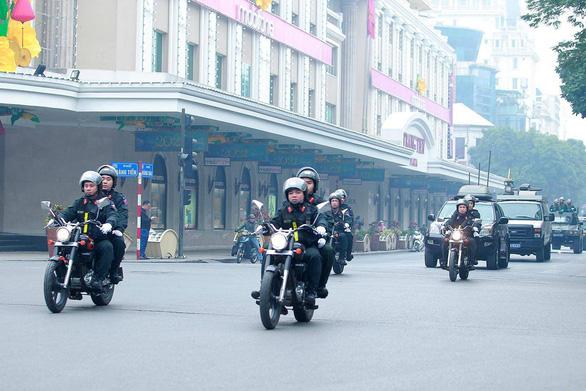 Công an Hà Nội huy động 100% quân số bảo vệ Đại hội Đảng lần thứ XIII - Ảnh 4.