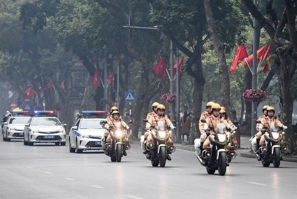 Công an Hà Nội huy động 100% quân số bảo vệ Đại hội Đảng lần thứ XIII - Ảnh 3.