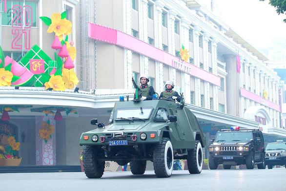 Công an Hà Nội huy động 100% quân số bảo vệ Đại hội Đảng lần thứ XIII - Ảnh 5.