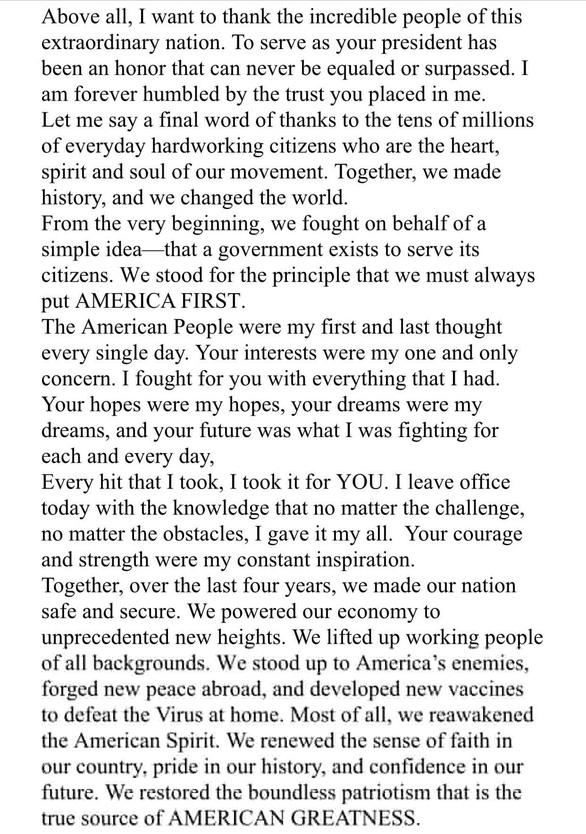 Bản thảo chúc mừng ghi tên ông Biden, ra phát biểu ông Trump lờ đi - Ảnh 3.