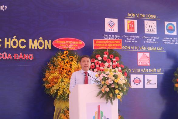 TP.HCM xây mới Bệnh viện Đa khoa khu vực Hóc Môn hơn 1.890 tỉ - Ảnh 2.