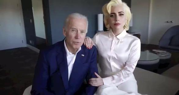 Lady Gaga biểu diễn tại lễ nhậm chức của ông Biden, mong một ngày yên bình - Ảnh 1.