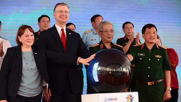 Xử lý dioxin sân bay Biên Hòa vượt kế hoạch - Ảnh 1.