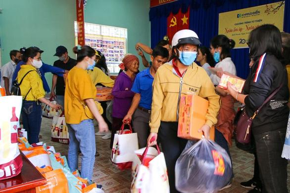 Khang Điền mang xuân yêu thương đến người dân xã An Khương, tỉnh Bình Phước - Ảnh 1.