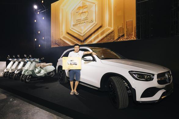 Trúng Mercedes, Honda CRV trong sự kiện 25 năm Van Phuc Group - Ảnh 3.