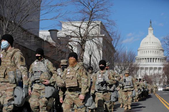 Cả chục lính Vệ binh quốc gia Mỹ bị loại khỏi nhiệm vụ an ninh lễ nhậm chức - Ảnh 1.