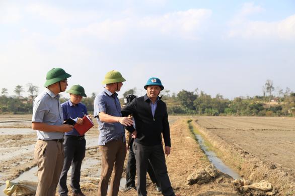 Dự án thủy lợi 200 tỉ chậm tiến độ, 200ha đất trồng lúa khát khô - Ảnh 3.