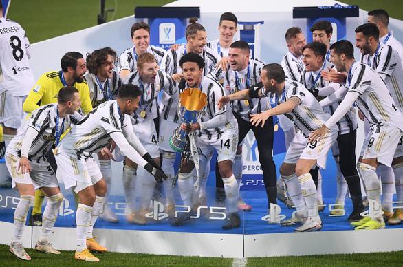 Ronaldo lập công, Juventus lần thứ 9 đoạt Siêu cúp Ý - Ảnh 4.