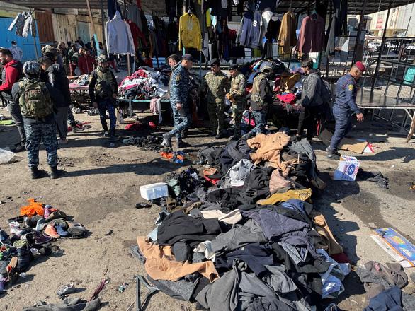 Hai vụ đánh bom liều chết ở Baghdad, ít nhất 13 người thiệt mạng - Ảnh 1.