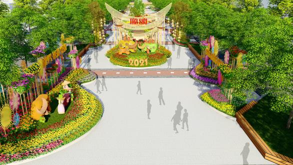 Điều chỉnh giao thông khu trung tâm TP.HCM phục vụ lễ hội Tết Tân Sửu 2021 - Ảnh 1.