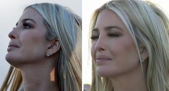 Ivanka khóc trong ngày cha mãn nhiệm - Ảnh 3.