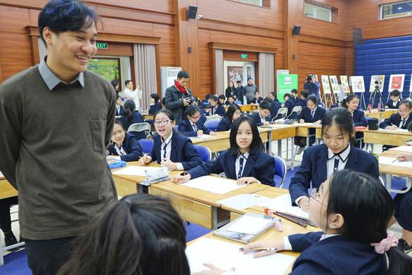 Phó Đại sứ Đan Mạch: Giải pháp phát triển bền vững có thể đến từ ý tưởng của học sinh - Ảnh 4.