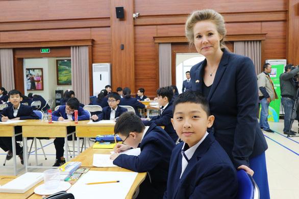 Phó Đại sứ Đan Mạch: Giải pháp phát triển bền vững có thể đến từ ý tưởng của học sinh - Ảnh 5.
