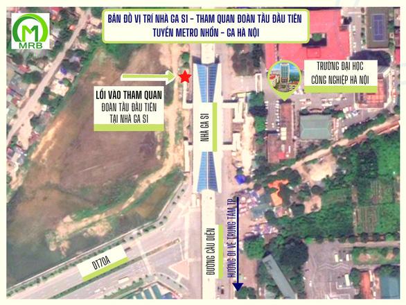 Người dân được tham quan đoàn tàu metro Nhổn - ga Hà Nội vào ngày 23-1 - Ảnh 1.