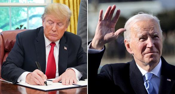 آقای ترامپ نامه ای به آقای بایدن گذاشت ، محتوا هنوز مخفی است - عکس 1.