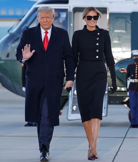 Cựu đệ nhất phu nhân Melania Trump không buồn khi chia tay Nhà Trắng - Ảnh 2.