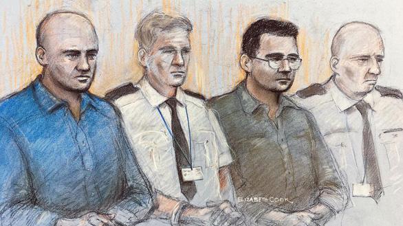 Vụ 39 thi thể trong container ở Anh: 4 bị cáo lãnh 78 năm tù - Ảnh 1.