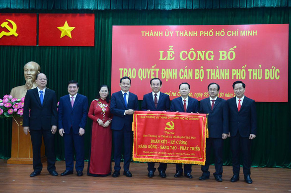 Ông Nguyễn Văn Nên: Lấy TP Thủ Đức làm mẫu một số việc cho toàn TP.HCM - Ảnh 2.