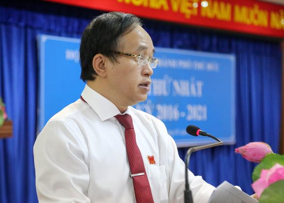 Ông Nguyễn Phước Hưng làm chủ tịch HĐND TP Thủ Đức - Ảnh 1.