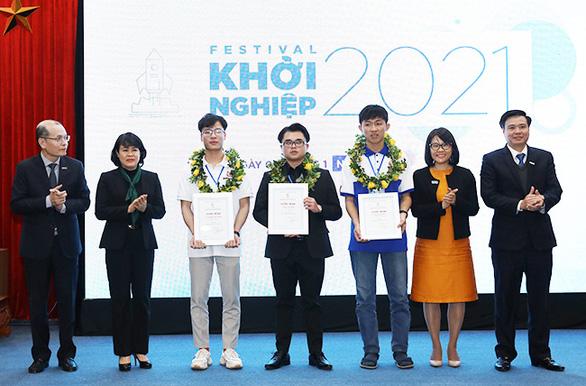 Sinh viên Duy Tân giành giải ba cuộc thi Khởi nghiệp quốc gia 2020 - Ảnh 1.