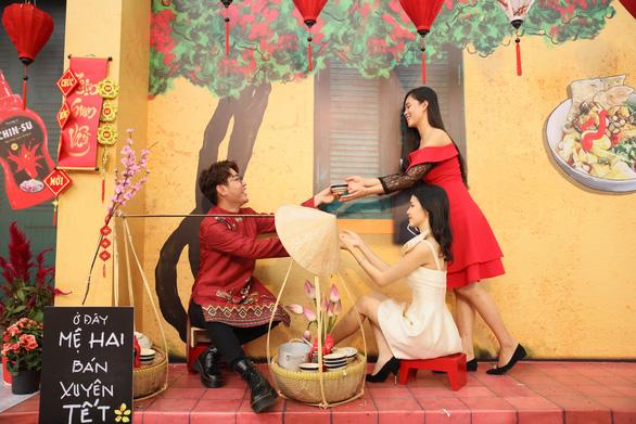 Chin-su mang không gian ẩm thực 3 miền đến lễ hội Tết Việt - Ảnh 6.