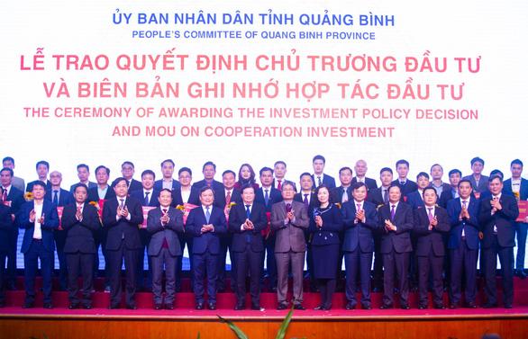 Tập đoàn DIC được Quảng Bình trao biên bản hợp tác đầu tư - Ảnh 1.