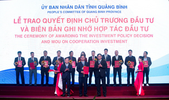 Tập đoàn DIC được Quảng Bình trao biên bản hợp tác đầu tư - Ảnh 2.
