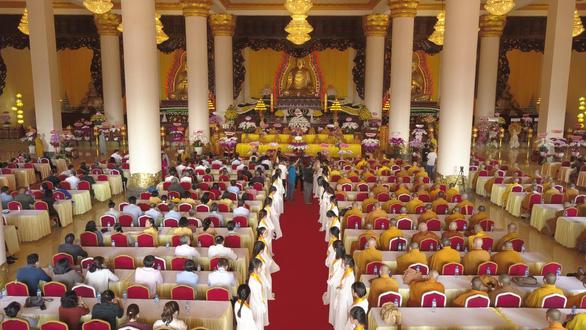 Bình Phước: Khánh thành tượng Phật ngồi cao 73m - Ảnh 4.