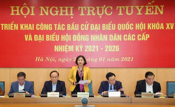 Hà Nội không giới thiệu người sa sút về phẩm chất đạo đức ra ứng cử - Ảnh 1.