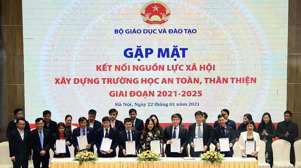 Nova Group đồng hành cùng Bộ GD&ĐT xây dựng trường học an toàn, thân thiện - Ảnh 1.