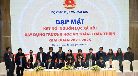 Nova Group đồng hành cùng Bộ GD&ĐT xây dựng trường học an toàn, thân thiện - Ảnh 2.