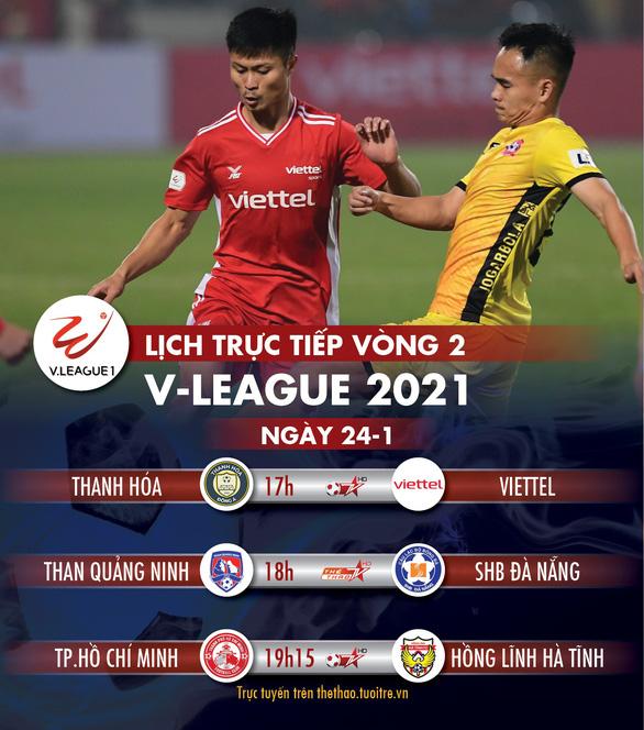 Lịch trực tiếp V-League 2020: Chiều nay Lee Nguyễn trổ tài cùng CLB TP.HCM - Ảnh 1.