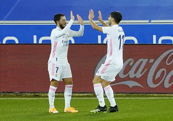 Hazard lên tiếng, Real Madrid thắng giòn giã - Ảnh 1.