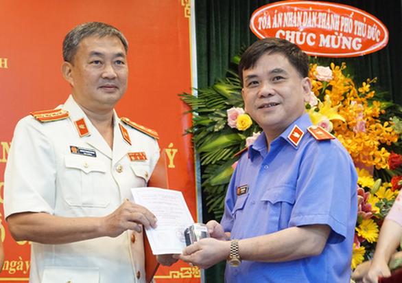 Ông Quách Thanh Giang làm viện trưởng Viện KSND TP Thủ Đức - Ảnh 1.