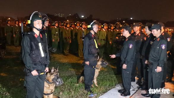 Cảnh sát cơ động sẵn sàng bảo vệ, phục vụ Đại hội Đảng XIII - Ảnh 1.