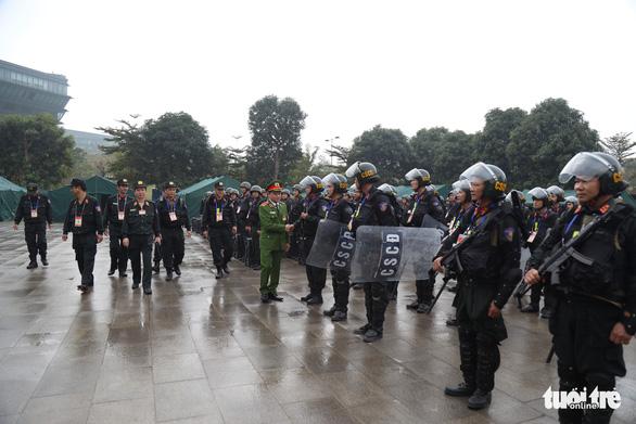 Cảnh sát cơ động sẵn sàng bảo vệ, phục vụ Đại hội Đảng XIII - Ảnh 3.