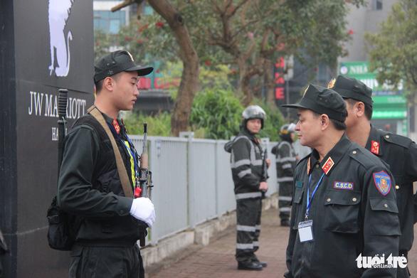 Cảnh sát cơ động sẵn sàng bảo vệ, phục vụ Đại hội Đảng XIII - Ảnh 4.