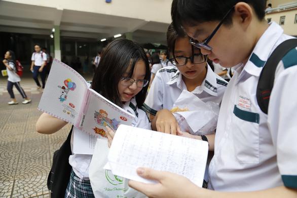 Sở Giáo dục - đào tạo TP.HCM đề xuất đổi cách tính điểm thi tuyển vào lớp 10 - Ảnh 1.