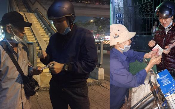 Đêm khuya, trưa nắng ra đường tìm người tặng vé xe Tết 0 đồng - Ảnh 1.